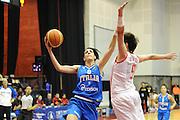 Cile 22/07/2011<br /> Campionato Mondiale Femminile U19<br /> Italia-Cina<br /> nella foto: Giovanna Pertile<br /> foto ciamillo-castoria