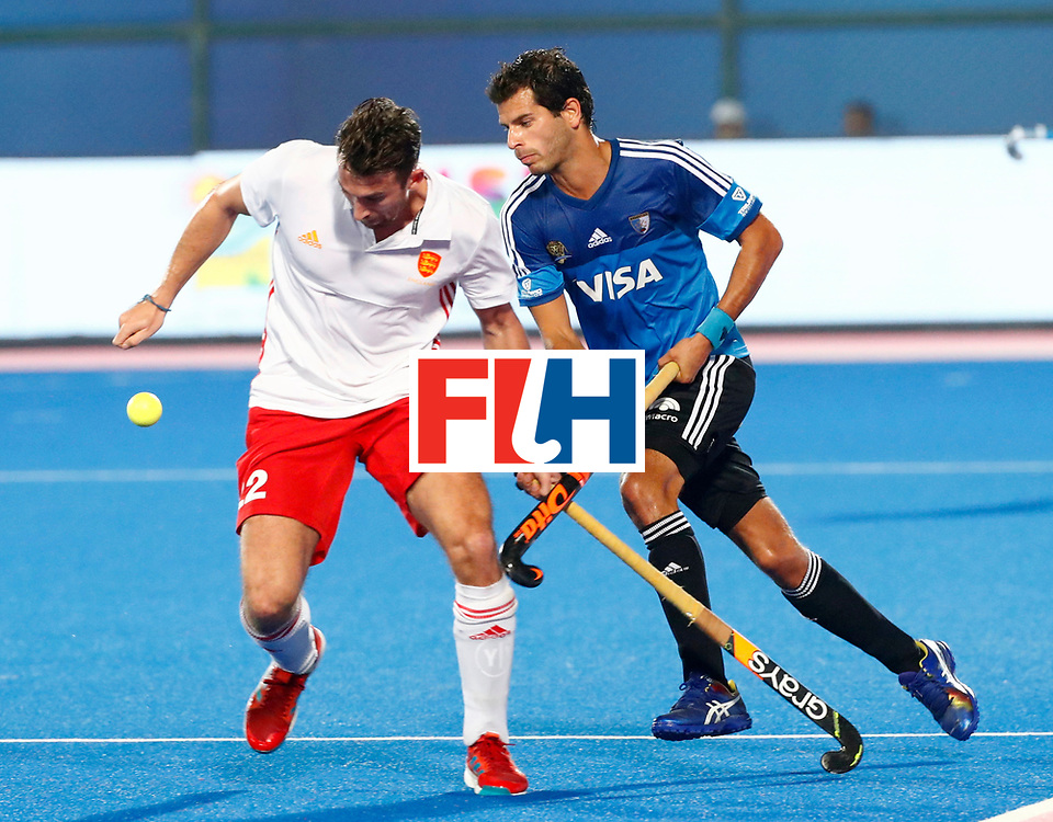 Odisha Men's Hockey World League Final Bhubaneswar 2017<br /> Match id:14<br /> England v Argentina<br /> Foto: David Condon (Eng) <br /> COPYRIGHT WORLDSPORTPICS KOEN SUYK