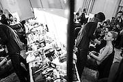 Day 3 LFW<br /> Temperley backstage  ,London Fashion Week AW13 Sunday 17, February 2013.