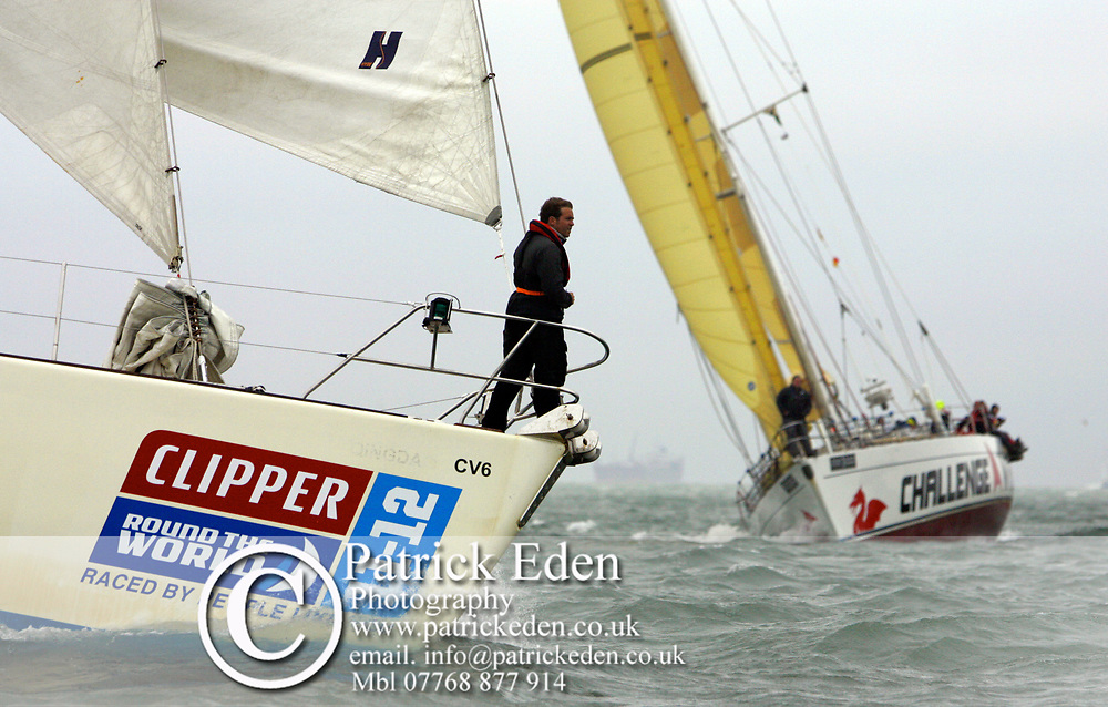 Nautica Clipper, J P Morgan, Round the Island Race, 2011, Cows, Isle of Wight, UK, Sports Photography