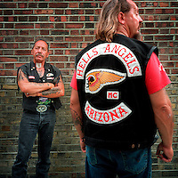 Ralph Hubert &quot;Sonny&quot; Barger a founding member of the Oakland, California, U.S. chapter of the Hells Angels Motorcycle Club.<br />