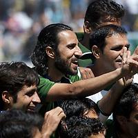 MELBOURNE - Champions Trophy men 2012<br /> India v Pakistan<br /> foto: Pakistan wins third place.<br /> foto: Abbas<br /> FFU PRESS AGENCY COPYRIGHT FRANK UIJLENBROEK
