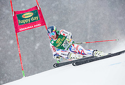 Mathieu Faivre (FRA) competes during 1st Run of 10th Men's Giant Slalom race of FIS Alpine Ski World Cup 55th Vitranc Cup 2016, on March 5, 2016 in Kranjska Gora, Slovenia. Photo by Vid Ponikvar / Sportida
