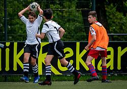Samuel #2 of VV Maarssen in action. VV Maarssen O14-1 played a friendly game against CDW O15-2. Maarssen won 9-2 on July 11, 2020 at Daalseweide sports park Maarssen.