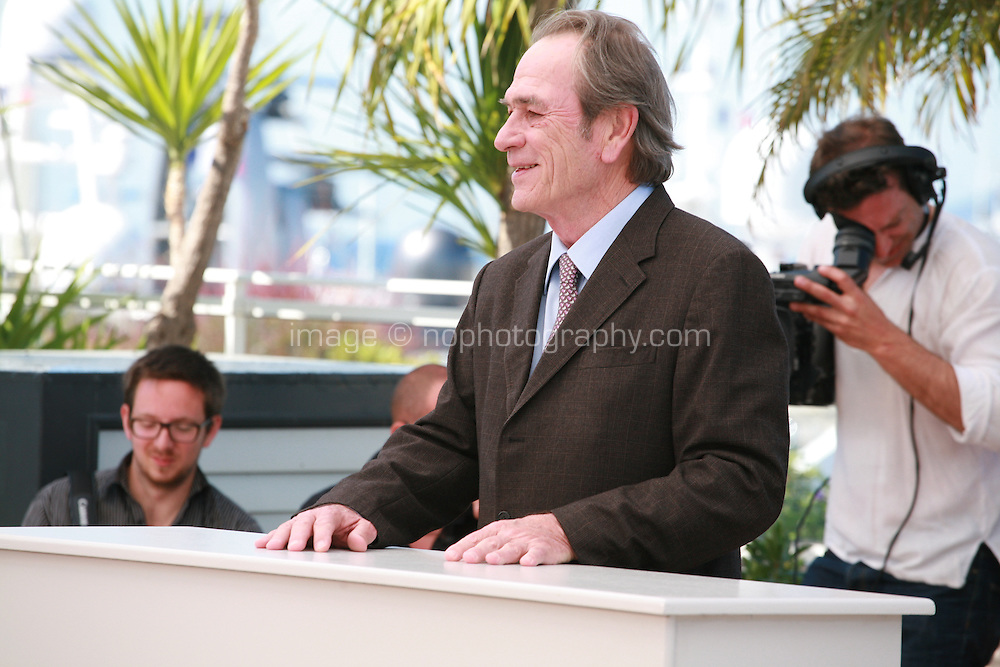 Director Tommy Lee Jones at the photo call for the film The Homesman at the 67th Cannes Film Festival, Sunday 18th May 2014, Cannes, France.