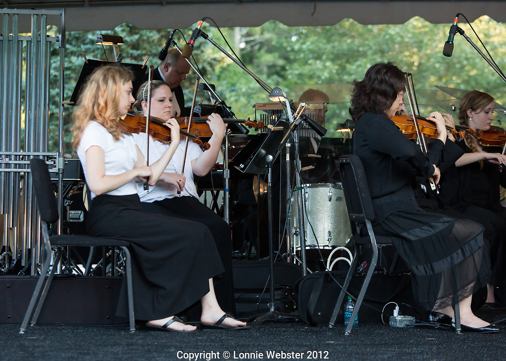 Symphony By The Lake at Chetola Resort in Blowing Rock NC. Cornelia Laemmli, Music Director/Conductor of the Symphony of the Mountains, Music Director/Conductor of the Symphony of the Mountains