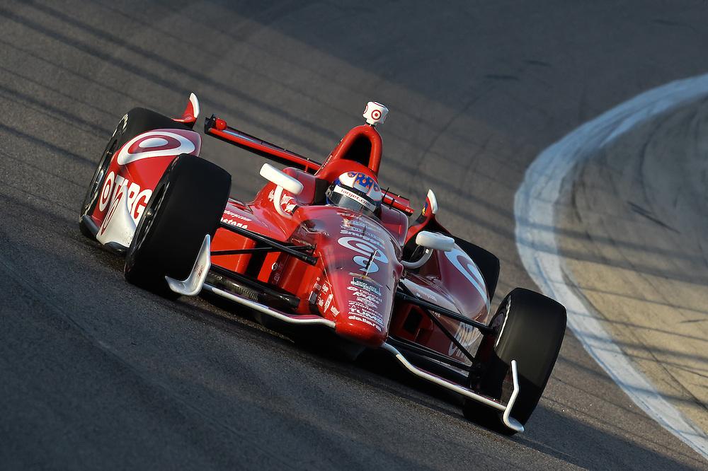 Scott Dixon, Texas Motor Speedway, Ft. Worth, TX USA 6/7/2014