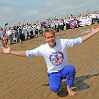 AINSDALE, UK:<br /> TV presenter and environmentalist Ben Fogle leads The Barefoot Wine Beach Rescue Project Beach Clean together with Surfers Against Sewage and over 200 local volunteers on Ainsdale Beach on Sunday, 5th August 2012..For further Press info, please contact:.LIANNE WALSH.W Communications.lianne@wcommunications.co.uk.T: +44 (0)752 525 4855.Copyright. All Rights Reserved. Licenced free for use in connection with this story to Barefoot Wine, W Communications and all publications..NON-EXCLUSIVE.