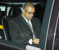 © Licensed to London News Pictures. 06/02/2019. London, UK. JAMES CLEVERLY MP arrives at Battersea Park in London for the annual Black and White Ball, a fundraiser held by the Conservative Party. Photo credit: Ben Cawthra/LNP