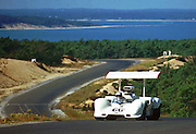 Jim Hall, Chaparral 2G, at the 1968 Bridgehampton Can-Am; PHOTO BY Pete Lyons 1968 / www.petelyons.com