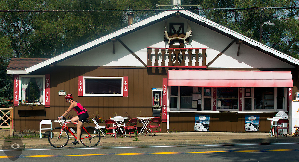 Day 2 riding from Star Lake to Boonville on Monday, August 24, 2015.