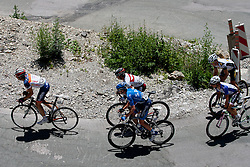 Cyclists during 3rd Stage (219 km) at 19th Tour de Slovenie 2012, on June 16, 2012, in Skofja Loka, Slovenia. (Photo by Matic Klansek Velej / Sportida.com)