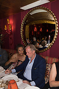 THE MARCHIONESS OF WORCESTER; RICHARD HUDSON, Robin Birley and Lady Annabel Goldsmith Summer Party. Hertford St. London. 5 July 2017