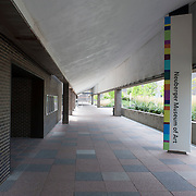 August 20, 2012 - Purchase, NY : A view of the entrance to the Neuberger Museum of Art at SUNY Purchase. CREDIT: Karsten Moran for The New York Times