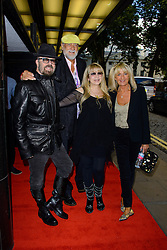 Stevie Nicks: In Your Dreams - screening and Q&A.<br /> Mick Fleetwood, Dave Stewart and Stevie Nicks arrive for the Stevie Nicks: In Your Dreams - screening and Q&A, Curzon Mayfair, London, United Kingdom. Monday, 16th September 2013. Picture by Chris Joseph / i-Images