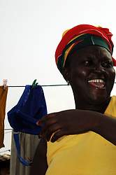 Ghana, Accra, 2007. Families such as the Marbells made every effort to mark Independence Day with a positive spirit.