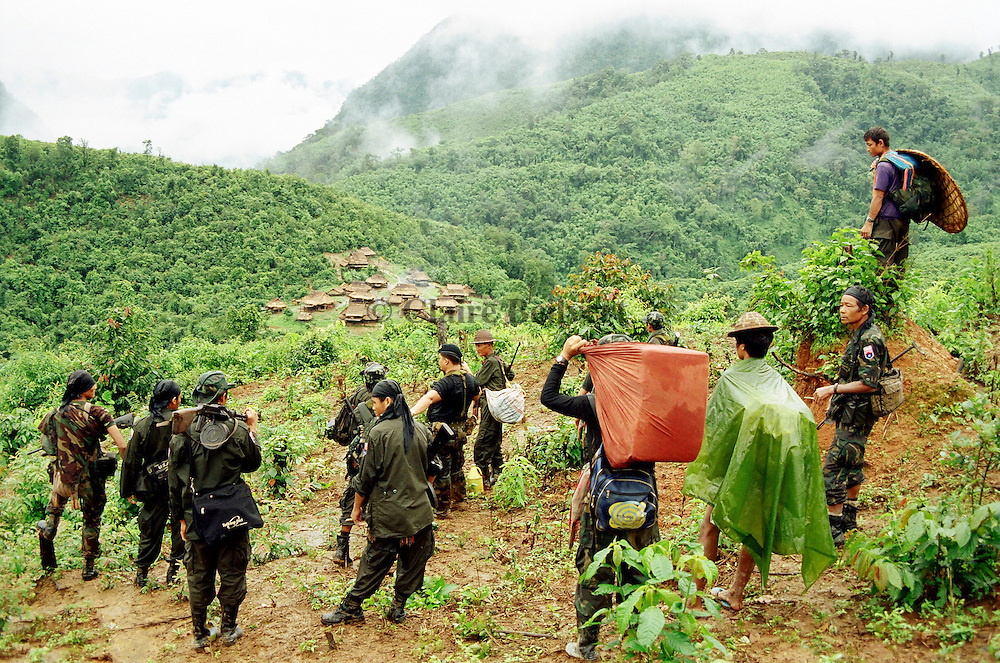 KNLA soldiers on a relief mission arrive in a very remote place in Burma. They bring food, medics and toys for IDPs who try to survive in the jungle. The karen minority in Burma is harrassed by Burmese junte and burmese soldiers. More than 300 000 karens are trying to survive in Burma. They have no medical support, no real education, very few food. The Burmese junta tries to wipe them out from their land. Karen people are victims of an ethnic cleansing. Only 7000 KNLA soldiers are trying to help them as no NGOs are allowed in this part of Burma.