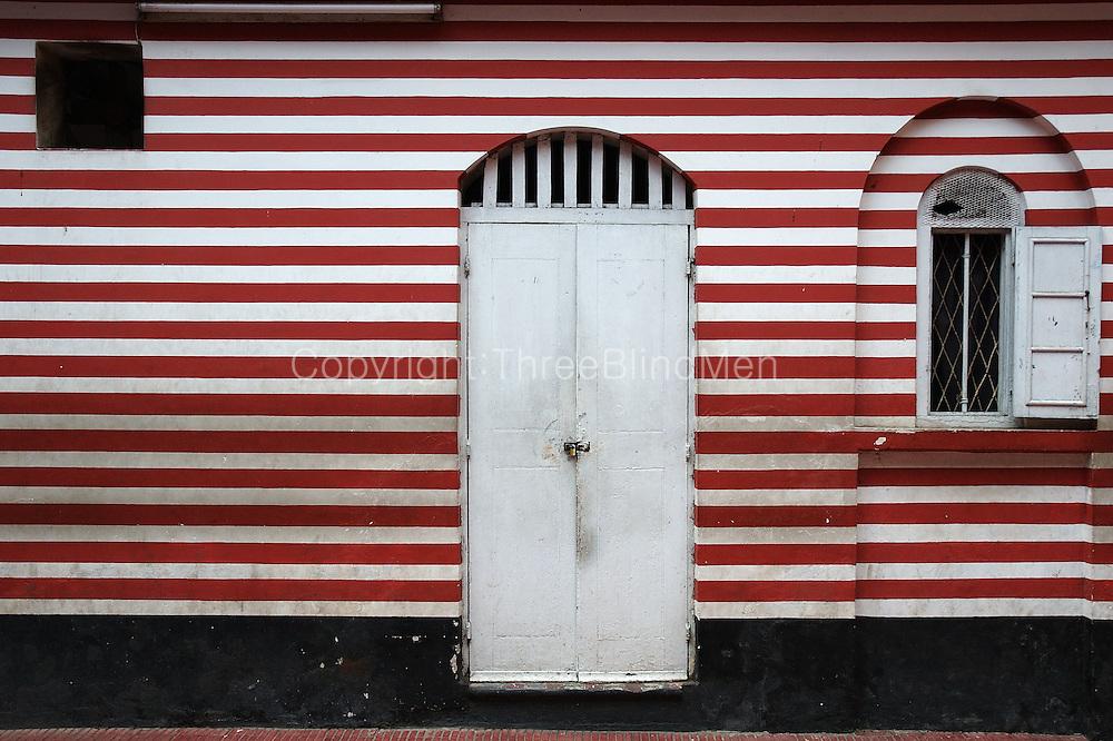 Door at Mosque in Pettah, Colombo.