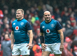 Rory Best of Ireland during the pre match warm up<br /> <br /> Photographer Simon King/Replay Images<br /> <br /> Six Nations Round 5 - Wales v Ireland - Saturday 16th March 2019 - Principality Stadium - Cardiff<br /> <br /> World Copyright © Replay Images . All rights reserved. info@replayimages.co.uk - http://replayimages.co.uk
