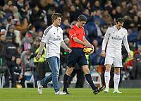 Football match between Real Madrid and <br /> Celta de Vigo of the 2014/2015 Spanish League, held at the Santiago Bernabeu stadium, in Madrid 12/06/2014.<br /> Magnus Carlsen , sjakk<br /> <br /> Norway only