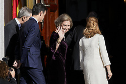 Former Queen Sofia of Spain attends to 40 Anniversary of Spanish Constitution at Congreso de los Diputados in Madrid, Spain. December 06, 2018. Photo by ALTERPHOTOS/A. Perez Meca/ABACAPRESS.COM