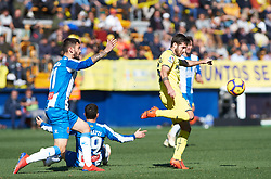 February 3, 2019 - Villarreal, Castellon, Spain - Miguel Llambrich of Villarreal during the La Liga match between Villarreal and Espanyol at Estadio de la Ceramica on February 3, 2019 in Vila-real, Spain. (Credit Image: © Maria Jose Segovia/NurPhoto via ZUMA Press)
