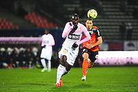 Cedric MONGONGU - 21.03.2015 - Evian Thonon / Montpellier - 30eme journée de Ligue 1 -<br />Photo : Jean Paul Thomas / Icon Sport