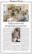 Editorial article in The Darien Times about The Open House in Rye, New York.