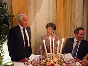 COMPTE JEAN D'ORMEZEONE; JACQUELINE DE RIBES;;, Dinner for Jacqueline de Ribes after Legion d'honneur award. 50 Rue de la Bienfaisance. Paris.