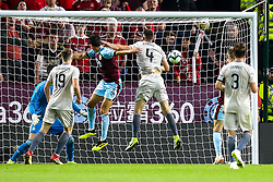 Jack Cork of Burnley scores a goal to make it 2-1 - Mandatory by-line: Robbie Stephenson/JMP - 02/08/2018 - FOOTBALL - Turf Moor - Burnley, England - Burnley v Aberdeen - UEFA Europa League Second Qualifier, 2nd Leg