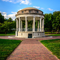 Picture of Parkman Bandstand. Boston Common is a city park and historic landmark in Boston Massachusetts in the Eastern United States of America.