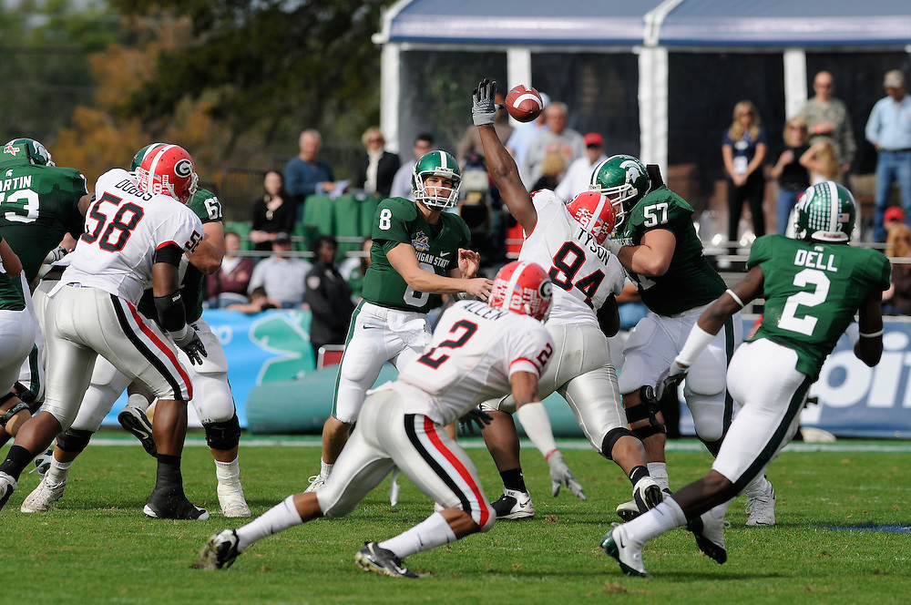 2009 Capital One Bowl: Michigan State Spartans vs Georgia Bulldogs