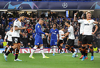Football - 2019 / 2020 UEFA Champions League - Group H: Chelsea vs. Valencia CF<br /> <br /> A dejected Ross Barkley of Chelsea after missing his penalty kick that when over the bar, at Stamford Bridge.<br /> Other penalty taker, Willan looks on<br /> <br /> COLORSPORT/ANDREW COWIE