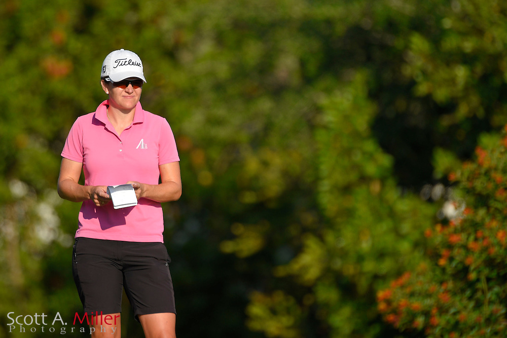 Julia Boland during the final round of the Chico's Patty Berg Memorial on April 19, 2015 in Fort Myers, Florida. The tournament feature golfers from both the Symetra and Legends Tours.<br /> <br /> &copy;2015 Scott A. Miller