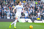 Luke Ayling of Leeds United (2) in action during the EFL Sky Bet Championship match between Leeds United and Bolton Wanderers at Elland Road, Leeds, England on 23 February 2019.