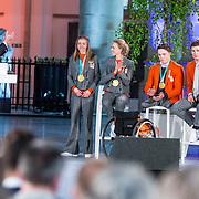 NLD/Den Haag/20180323 - Huldiging Olympische en Paralympische medaillewinnaars, Esmee Visser
