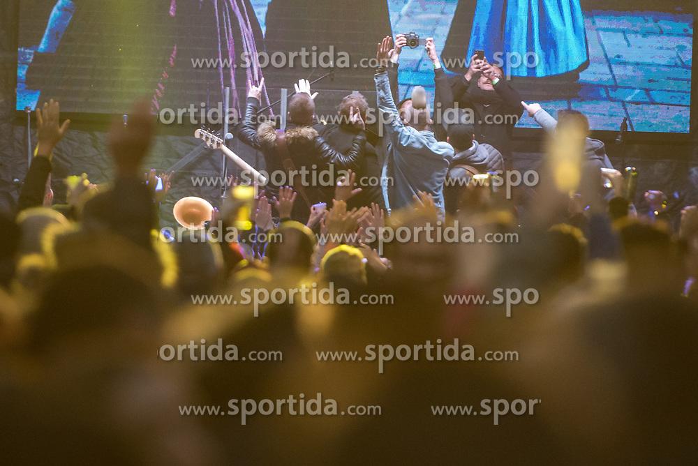 Music band Poskocni muzikantje during during martinovanje, St. Martin's Day Celebration on November 11, 2019 in Maribor, Slovenia. Photo by Milos Vujinovic / Sportida