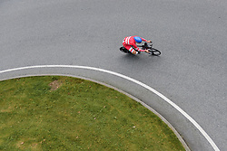 Pernille Mathiesen at UCI Road World Championships Elite Women's Individual Time Trial 2017 a 21.1 km time trial in Bergen, Norway on September 19, 2017. (Photo by Sean Robinson/Velofocus)