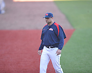Cliff Godwin at Ole Miss baseball practice at Oxford-University Stadium  in Oxford, Miss. on Thursday, February 2, 2012.