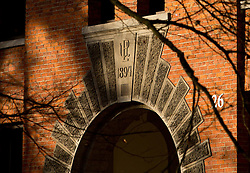 Harstad in the morning light at PLU on Tuesday, Feb. 5, 2013. (Photo/John Froschauer)