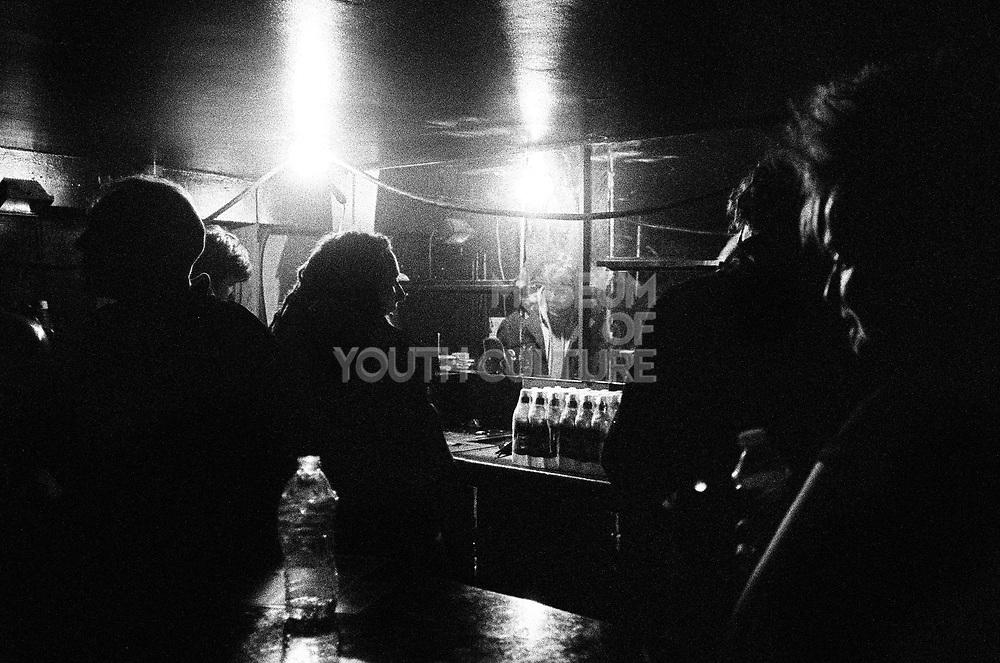 Party goers inside Vauxhall's Hidden Club, London, UK, February 2015