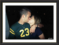 ROBIE WILLIAMS & NICOLE APPELTON  AT  londons met bar  9.06.2003. Museum-quality Archival Large signed Framed Print £750