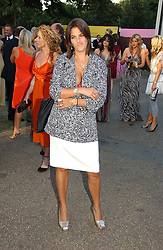 TRACEY EMIN at the Serpentine Gallery Summer party sponsored by Yves Saint Laurent held at the Serpentine Gallery, Kensington Gardens, London W2 on 11th July 2006.<br />