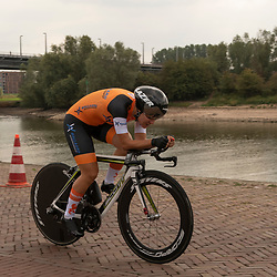 28-08-2018: Wielrennen: Ladies Tour: Arnhem<br /> Loes Adegeest, Team Netherlands