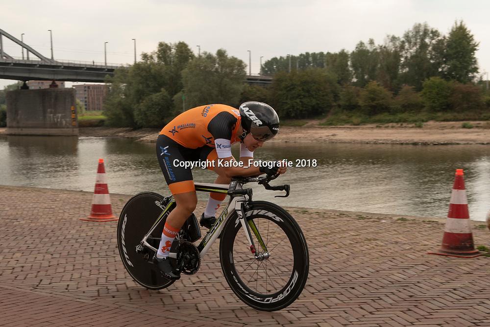 28-08-2018: Wielrennen: Ladies Tour: Arnhem<br /> Loes Adegeest, Team Netherlands