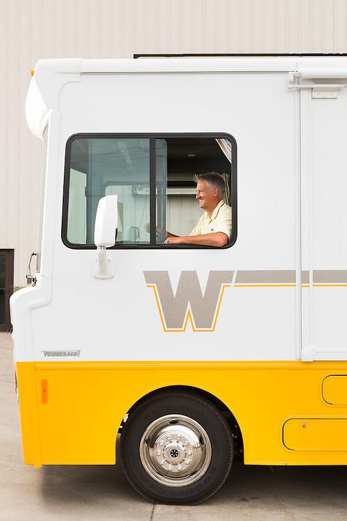 Portrait of Winnebago Industries CEO Randy J  Potts   Ryan