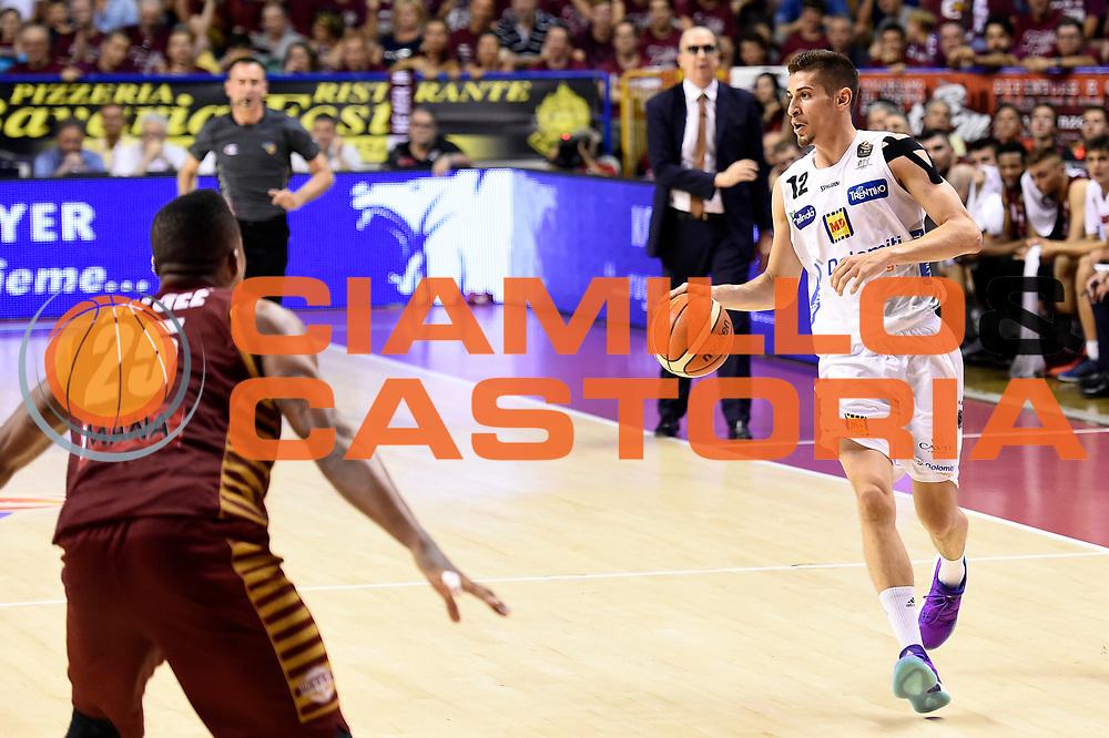 Diego Flaccadori<br /> Umana Reyer Venezia - Dolomiti Energia Aquila Basket Trento<br /> Lega Basket Serie A 2016/2017<br /> Playoff, finale gara 2<br /> Venezia, 12/06/2017<br /> Foto M.Ceretti / Ciamillo-Castoria