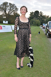 CAMILLA RUTHERFORD at the Chovgan Twilight Polo Gala in association with the PNN Group held at Ham Polo Club, Petersham Close, Richmond, Surrey on 10th September 2014.