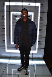 Jamal Edwards at the official launch of The Perception at W London, 10 Wardour Street, London England. 7 November 2017.<br /> Photo by Dominic O'Neill/SilverHub 0203 174 1069 sales@silverhubmedia.com