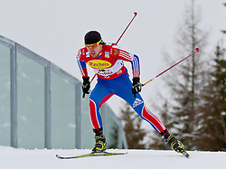16.12.2011, Casino Arena, Seefeld, AUT, FIS Nordische Kombination, Team Sprint 2* 7.5 km, im Bild Mitja Oranic (SOL) // Mitja Oranic of Slovenia during Team Sprint 2* 7.5 km the team competition at FIS Nordic Combined World Cup in Sefeld, Austria on 20111211. EXPA Pictures © 2011, PhotoCredit: EXPA/ P.Rinderer